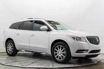 2016 Buick Enclave Leather Leather 3rd Row Leather Heated Seats R Camera 8K Must See and Drive Save