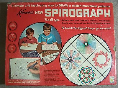 Vintage Kenner Spirograph Set with Directions No. 401