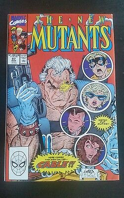 The New Mutants #87 (Mar 1990, Marvel) First Cable HOT Deadpool