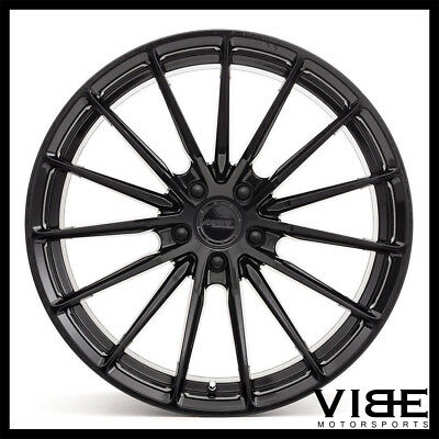 19 Mrr Gf9 Matte Black 19x9 5 Concave Wheels For Infiniti G37 Coupe