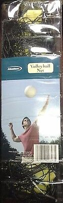 """New Halex Volleyball Net Official Size 32'x3'3"""" 18 Ply 4"""" Mesh All Weather"""