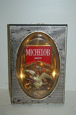 Vintage KRIBS MICHELOB Beer Advertising Sign 12 X 8.5 inches
