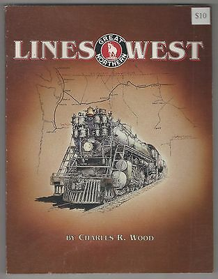 Lines West Great Northern railroad  book