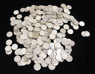 †258 ROOSEVELT AND MERCURY SILVER DIMES *tax exempt* Lot 603