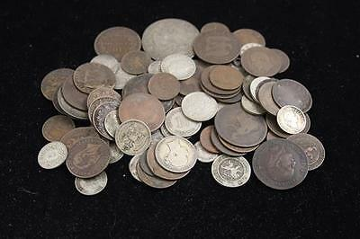 LOT EARLY FOREIGN COINS INCLUDING MEXICO, ITALY, AND GERMANY Lot 353