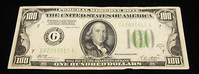 SERIES 1928 ONE HUNDRED DOLLAR FEDERAL RESERVE NOTE Lot 774