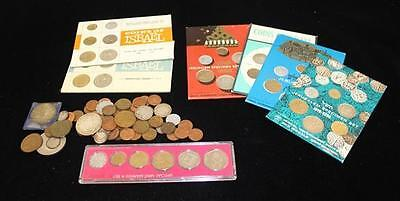 """LOT FOREIGN COINS INCLUDING """"COINS OF ISRAEL"""" SETS AND 1971 ISRAEL MI... Lot 781"""