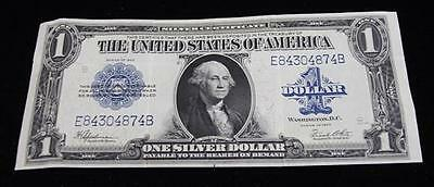 SERIES 1923 ONE DOLLAR SILVER CERTIFICATE, LARGE SIZE NOTE Lot 777