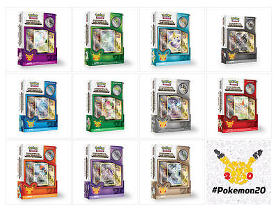 Pokemon - Complete set of 20th Anniversary Mythical Pokemon Box Set's