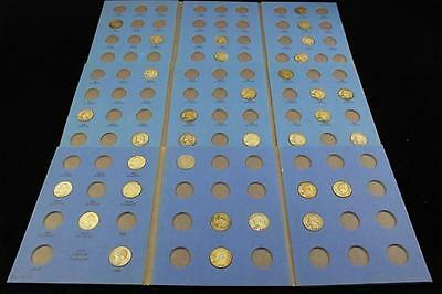 †3 WHITMAN WASHINGTON QUARTER ALBUMS 1932- WITH 33 SILVER COINS *tax... Lot 1284
