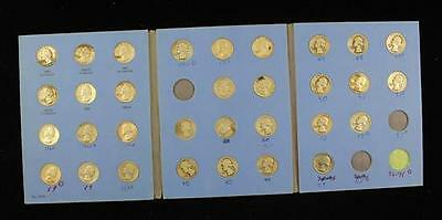 †WHITMAN WASHINGTON QUARTER ALBUM VOL III INCLUDING 31 SILVER COINS ... Lot 1527