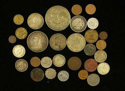 LOT VARIOUS FOREIGN COINS Lot 1364