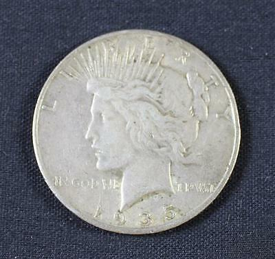 †1935S PEACE SILVER DOLLAR *tax exempt* Lot 2043