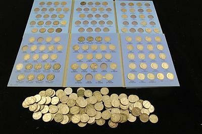 2 WHITMAN JEFFERSON NICKEL COIN ALBUMS, PARTIAL SETS, INCLUDING SILV... Lot 1714