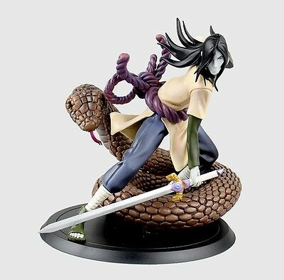 Anime Naruto Shippuden Orochimaru Toy Figure Doll New In Box