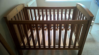 Boori Country Classic Cot & Baby Change Table Set