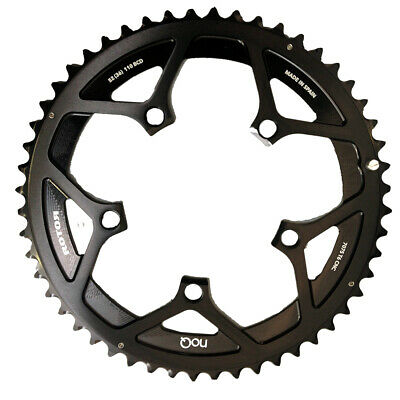 Rotor noQ BCD110x5 53T Outer Chainring BLACK