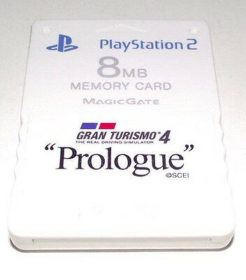 Genuine Sony PS2 Memory Card Preloved Gran Turismo 4 Prologue