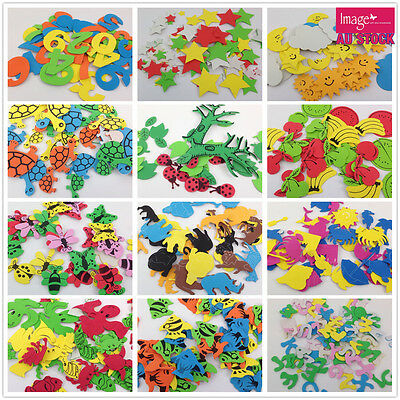 Eva Foam Alphabet Number Animal Craft Wall Scrapbooking Kids Educational Puzzle
