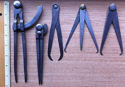 A selection of vintage Calipers.