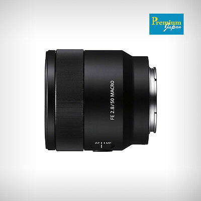 Sony SEL50M28 Sonnar T FE 50 mm F2.8 Macro Lens Japan Version New