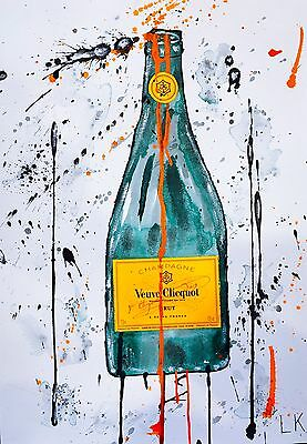 """Veuve Clicquot II"", Original Art (Framed)"