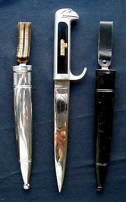 1932s Rare Italy DAGGER military Fascist WWII with 2 scabbards