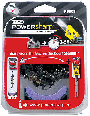 Oregon Powersharp Chain and Sharpening Stone 56 Link PS56E