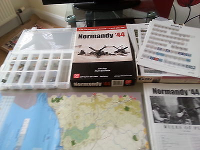 Normandy 44 Boardgame By Gmt Games
