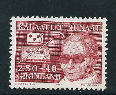 Greenland 1983 Welfare of the Blind SG139  mint  stamp