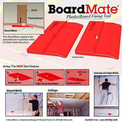 BoardMate Drywall Fitting Tool, Supports The Board In Place While Installing
