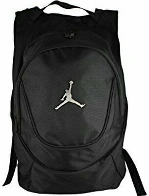 ��New Nike Air Jordan Jumpman Gym Backpack Laptop Bag Black  Msrp $50��