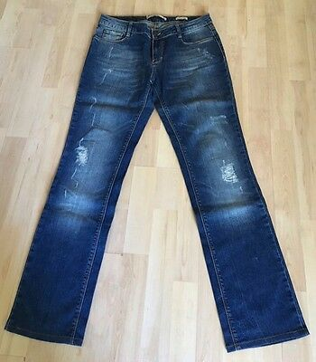"""Jeans Coupe Droite """"ZARA WOMAN"""" Taille 38"""