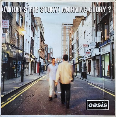 OASIS ‎- (What's The Story) Morning Glory? (LP) (G-VG/G-)