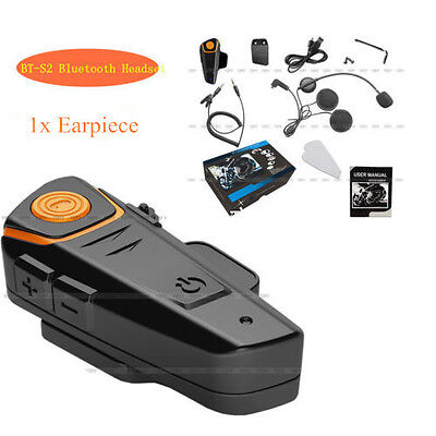 1000m BT-S2 Bluetooth Auricular Intercomunicador Casco Interphone FM Radio Moto