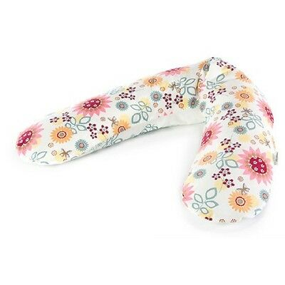 """Theraline Reference Cover For Nursing Cushion """"Summer flowers"""" Dessin 80 190cm"""