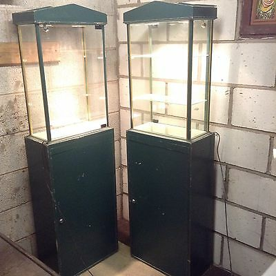 Glass Cabinets For Antique Shop Display