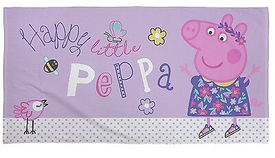 EXTRA LARGE - New Peppa Pig Official Beach Bath Towel Kids Girls Holiday Gift