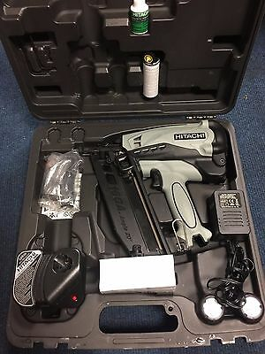 Hitachi NT 65GB Gas finish nailer - Boxed in good condition