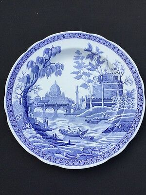 THE SPODE BLUE ROOM COLLECTION Rome Collectors Plate