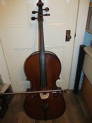 Full Size (4/4) Stentor Student II Cello Outfit - Good Condition