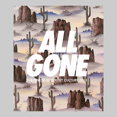 ALL GONE BOOK - 2016 - Sand Cover
