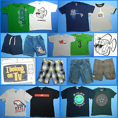 15 Piece Lot of Nice Clean Boys Size 6 Spring Summer Everyday Clothes ss130