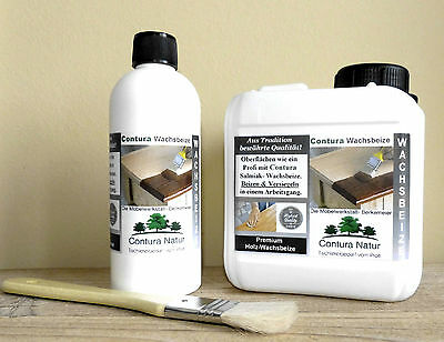 2in1 Wood Stain 19,8€/L & Wax Furniture color protection