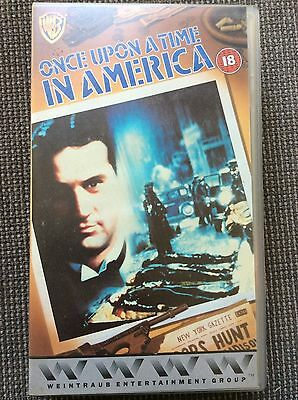 Once Upon A Time In America VHS Video