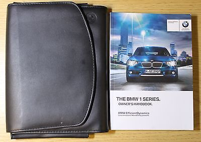 Bmw 1 Series 5Dr F20/ 3Dr F21 Handbook Owners Manual Wallet 2011-2015 Pack #5125