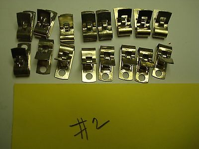Fahnestock Clips lot as shown  #2