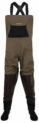 Greys Strata CTX Breathable Stocking Foot Chest Fishing Waders – All Sizes