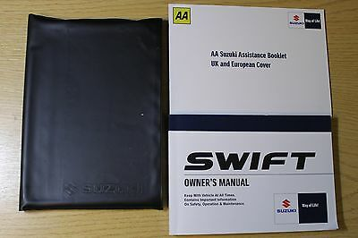 Suzuki Swift Owners Manual Handbook Wallet 2008-2010 Pack 6027