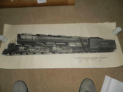 Union Pacific Challenger  Lithograph
